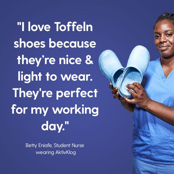 отзив 3 за медицинските обувки Toffeln