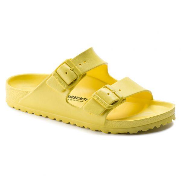 Дамски джапанки Birkenstock Arizona Eva Vibrant Yellow 1014611 ярко жълти - снимка 1