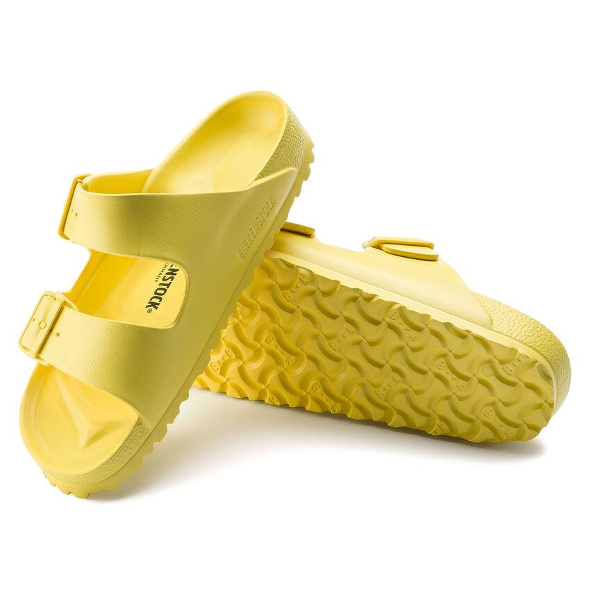 Дамски джапанки Birkenstock Arizona Eva Vibrant Yellow 1014611 ярко жълти - снимка 6