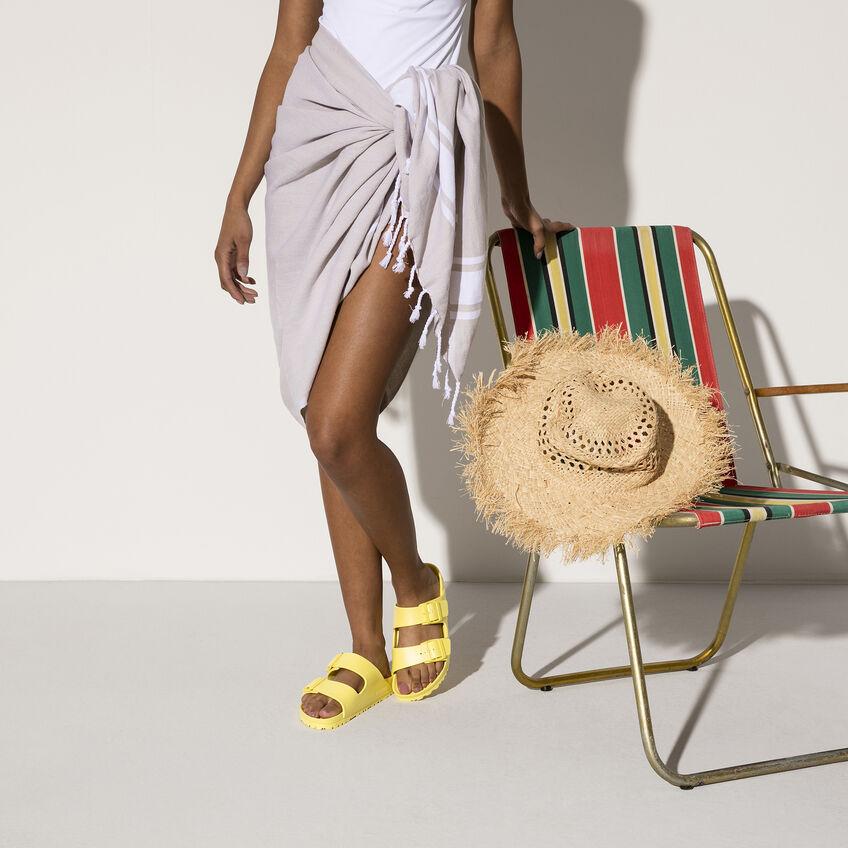 Дамски джапанки Birkenstock Arizona Eva Vibrant Yellow 1014611 ярко жълти - снимка 7