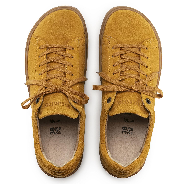 Дамски ежедневни спортни обувки с връзки Birkenstock Bend Low LEVE Ochre - снимка 5