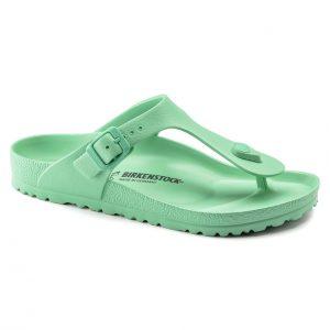 Дамски джапанки Birkenstock Gizeh EVA Beach Bold Jade светло зелени - снимка 1