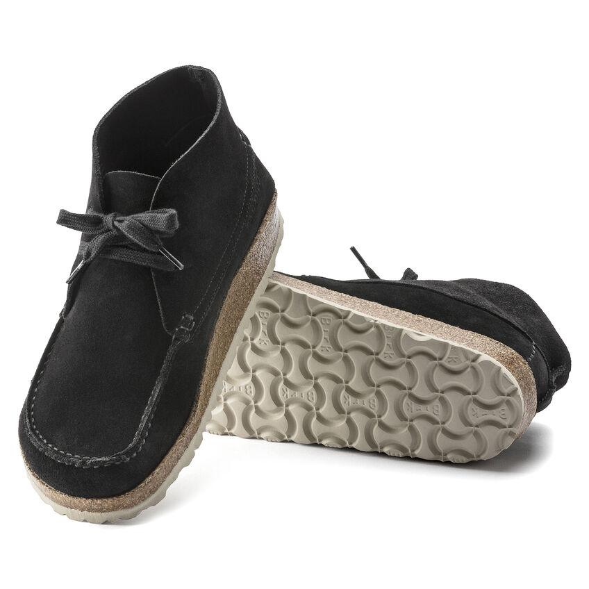 Мъжки ежедневни високи обувки от велур Birkenstock Maidan черни - снимка 6