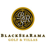 лого BlackSeaRama Golf & Villas - клиент на kloG BG