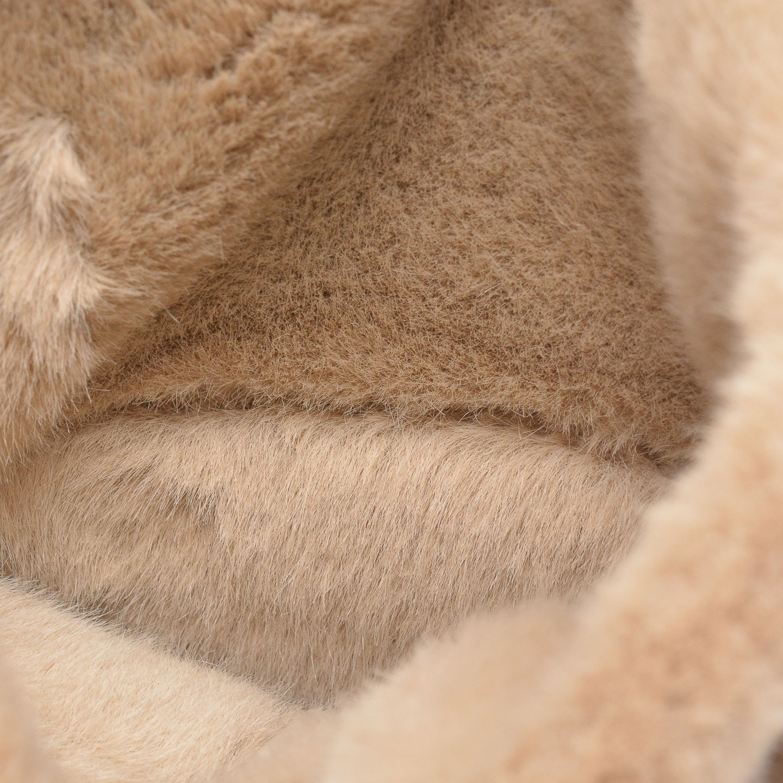 Дамски боти от велур с топла подплата Clarks Aveleigh Rise Taupe Suede бежови - снимка 6