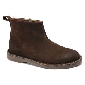 Дамски високи обувки от велур Birkenstock Melrose Suede Espresso - снимка 1