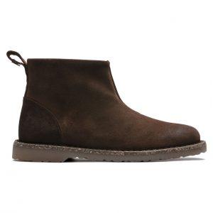 Дамски високи обувки от велур Birkenstock Melrose Suede Espresso - снимка 2
