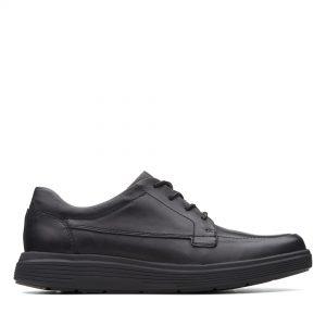 Голям размер мъжки ежедн. обувки Clarks Un Abode Easy - снимка 2