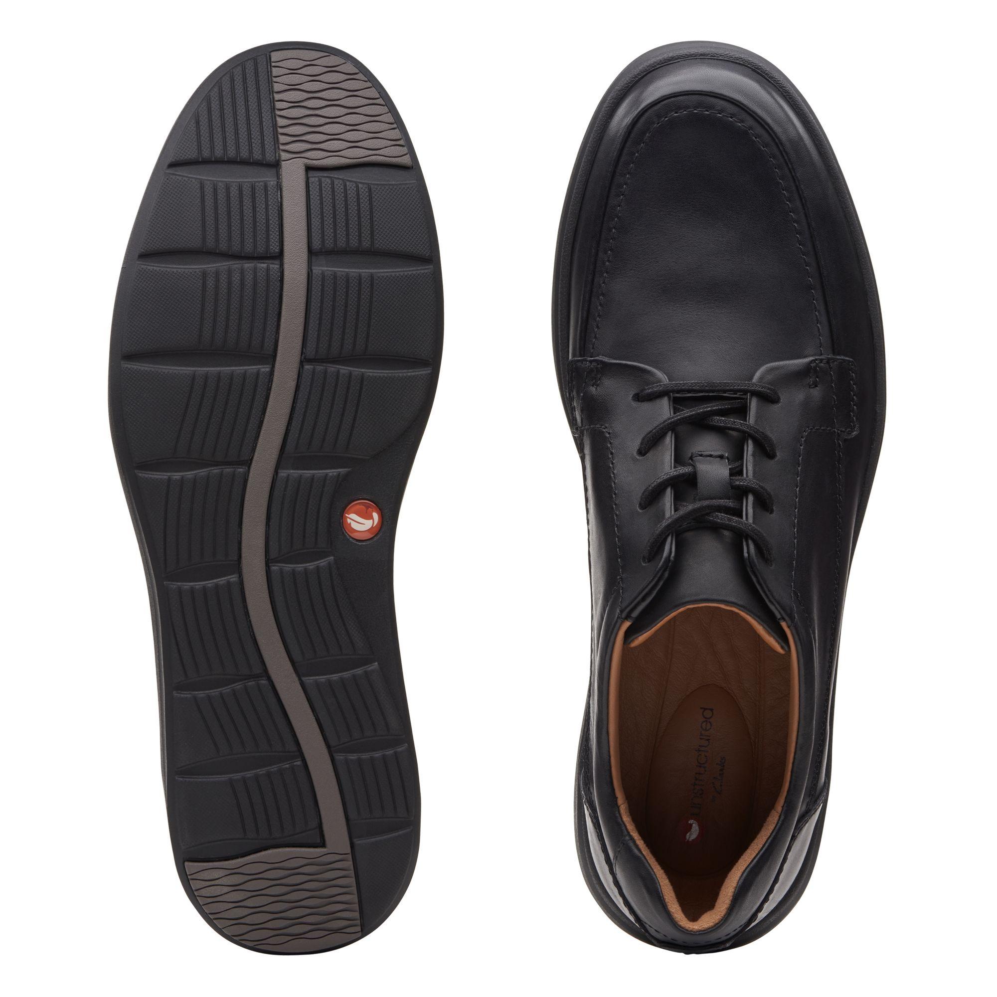 Голям размер мъжки ежедн. обувки Clarks Un Abode Easy - снимка 7