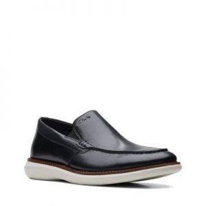 Мъжки обувки от естествена кожа Clarks Brantin Step - снимка 1