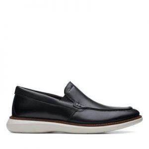 Мъжки обувки от естествена кожа Clarks Brantin Step - снимка 2