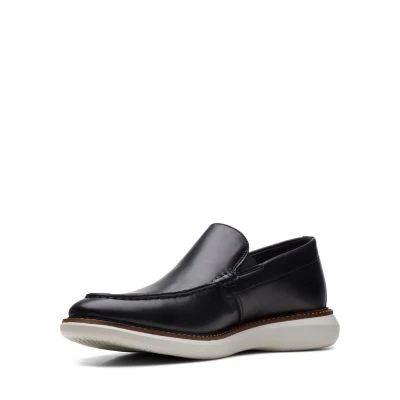 Мъжки обувки от естествена кожа Clarks Brantin Step - снимка 4