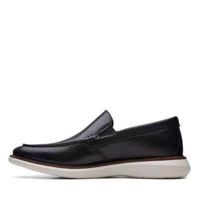 Мъжки обувки от естествена кожа Clarks Brantin Step - снимка 5