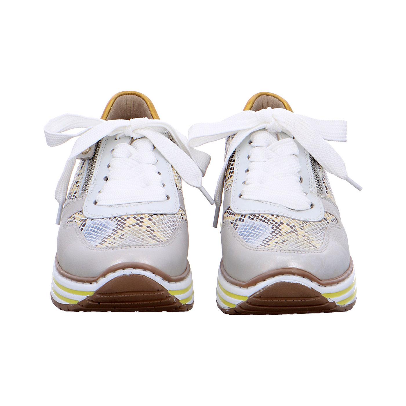 Дамски маратонки Аra 12-32461-76 змийско и бяло - снимка 6