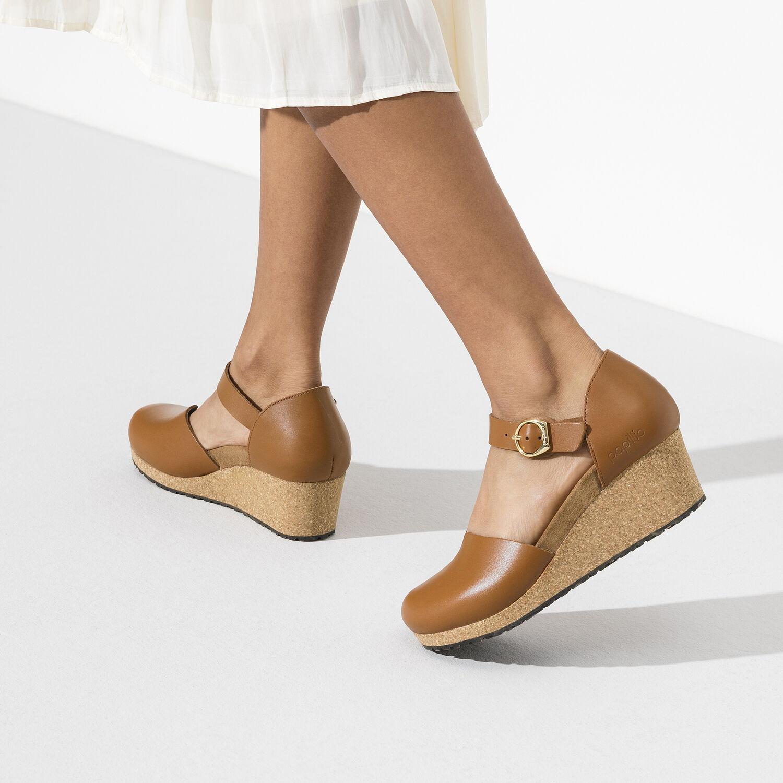 Дамски отворени обувки с дебела подметка Birkenstock Mary Ring-Buckle - снимка 7