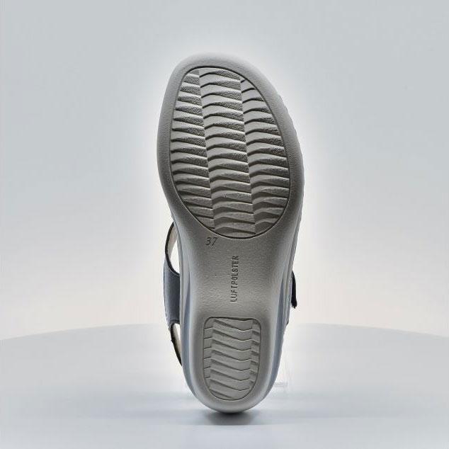 Дамски кожени сандали ara COLMAR 12-39055-16 тъмно сини - снимка 1ч