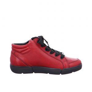 Дамски високи спортни обувки с връзки ara 12-14435-05 бордо - снимка 2