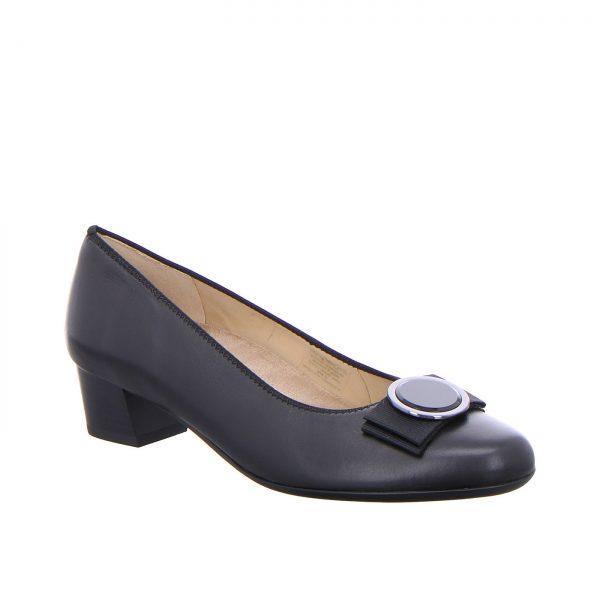 Дамски елегантни обувки на ток ara New Nitza 12-45882-01 черни - снимка 1