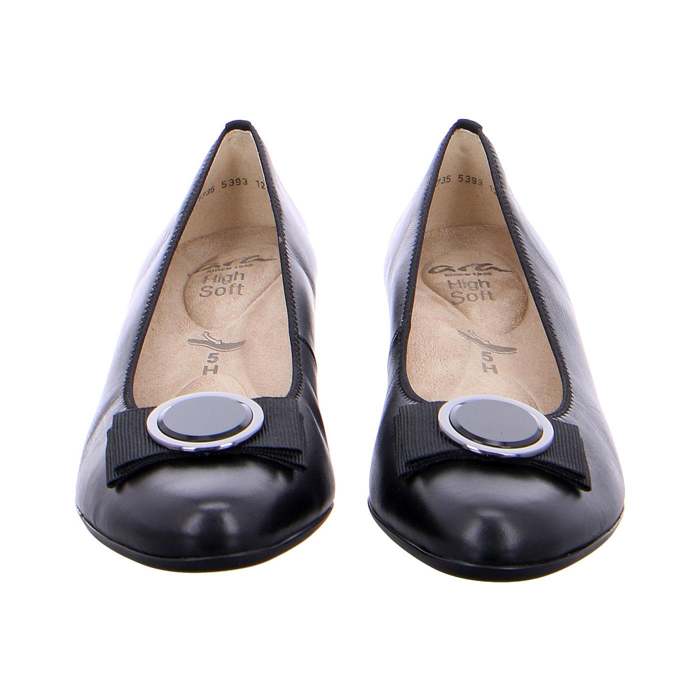 Дамски елегантни обувки на ток ara New Nitza 12-45882-01 черни - снимка 5