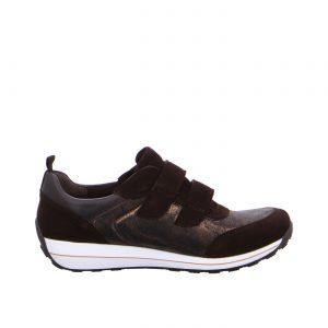 Дамски спортни обувки с велкро ara 12-44520-79 кафяви - снимка 2