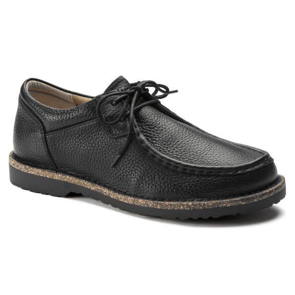 Мъжки обувки Birkenstock Pasadena Men - ест. кожа, черни - снимка 1