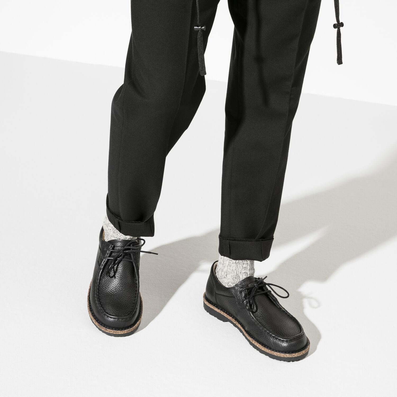 Мъжки обувки Birkenstock Pasadena Men - ест. кожа, черни - снимка 7