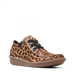 Дамски ежедневни обувки Clarks Funny Dream Leopard Print - снимка 1