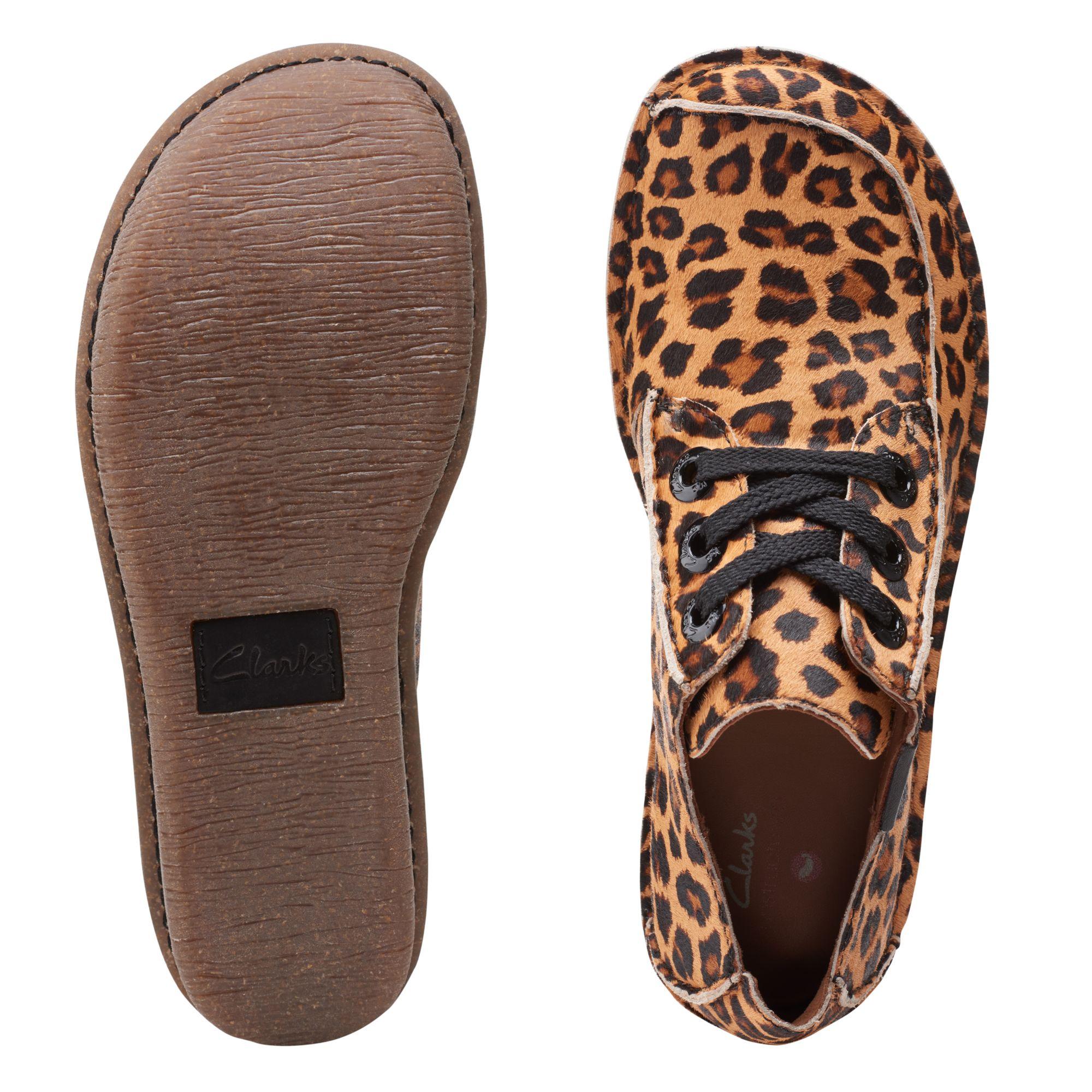 Дамски ежедневни обувки Clarks Funny Dream Leopard Print