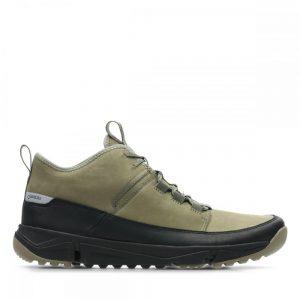 Мъжки спортни обувки Clarks Tri Track Go GTX от ест. кожа - снимка 2