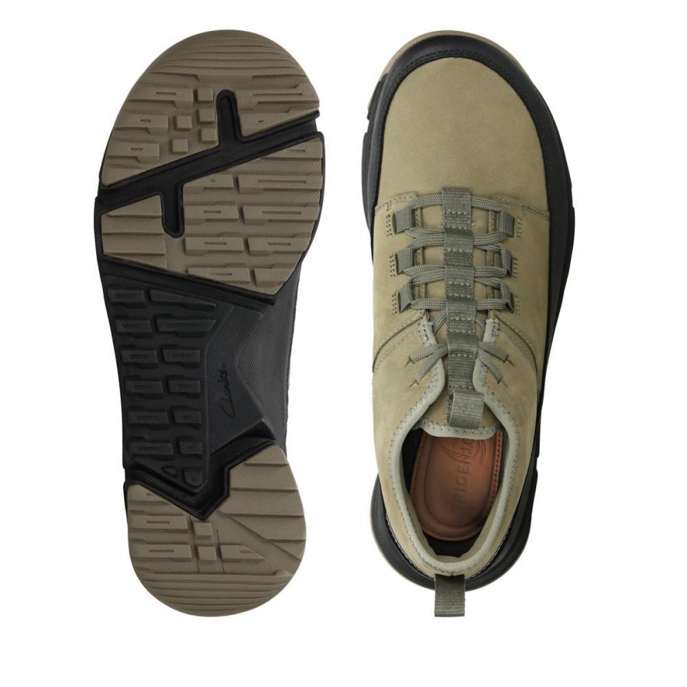Мъжки спортни обувки Clarks Tri Track Go GTX от ест. кожа - снимка 6