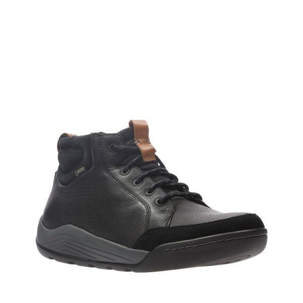Мъжки обувки Clarks Ashcombe Mid Gore-Tex естествена кожа - снимка 1