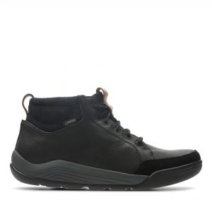 Мъжки обувки Clarks Ashcombe Mid Gore-Tex естествена кожа - снимка 2