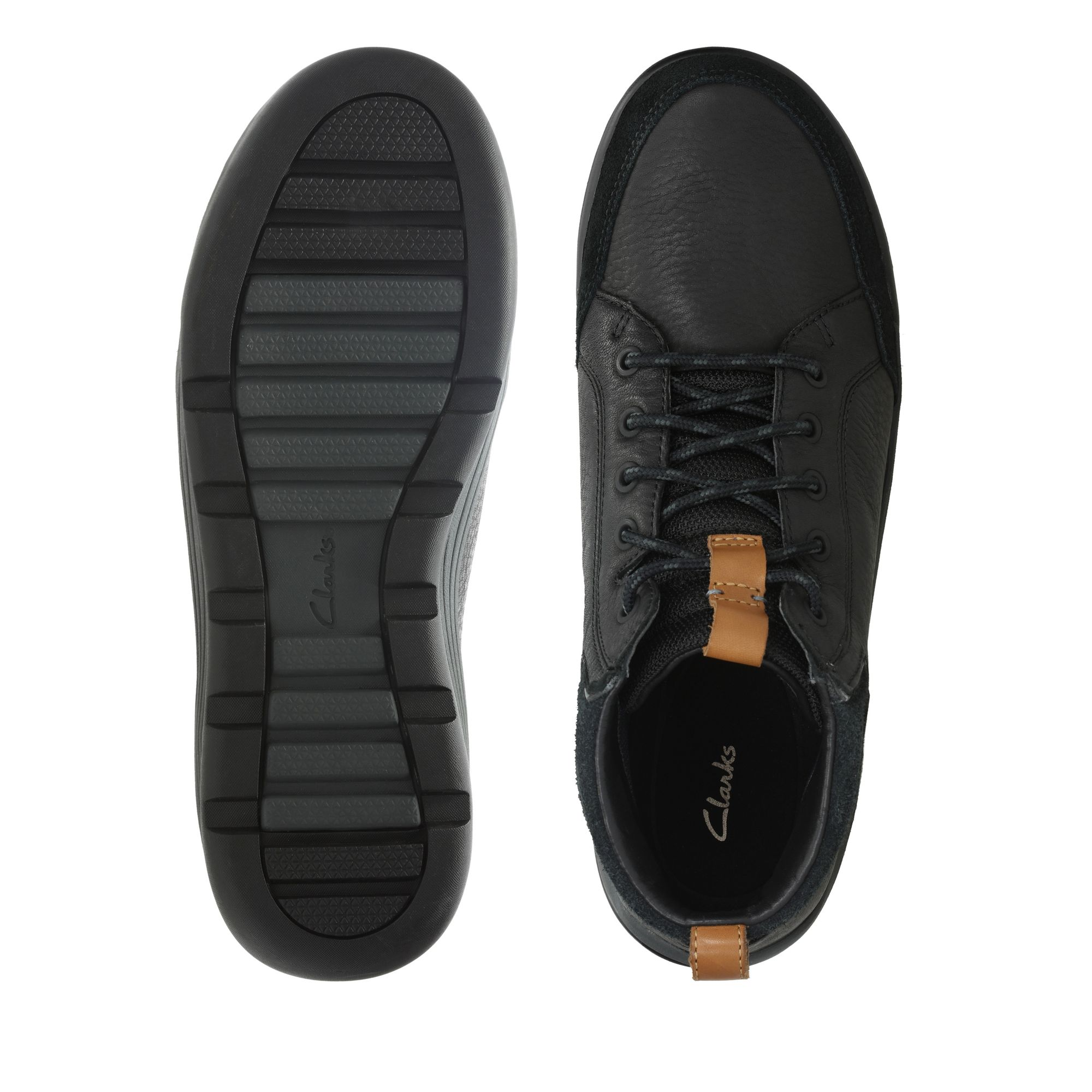 Мъжки обувки Clarks Ashcombe Mid Gore-Tex естествена кожа - снимка 7