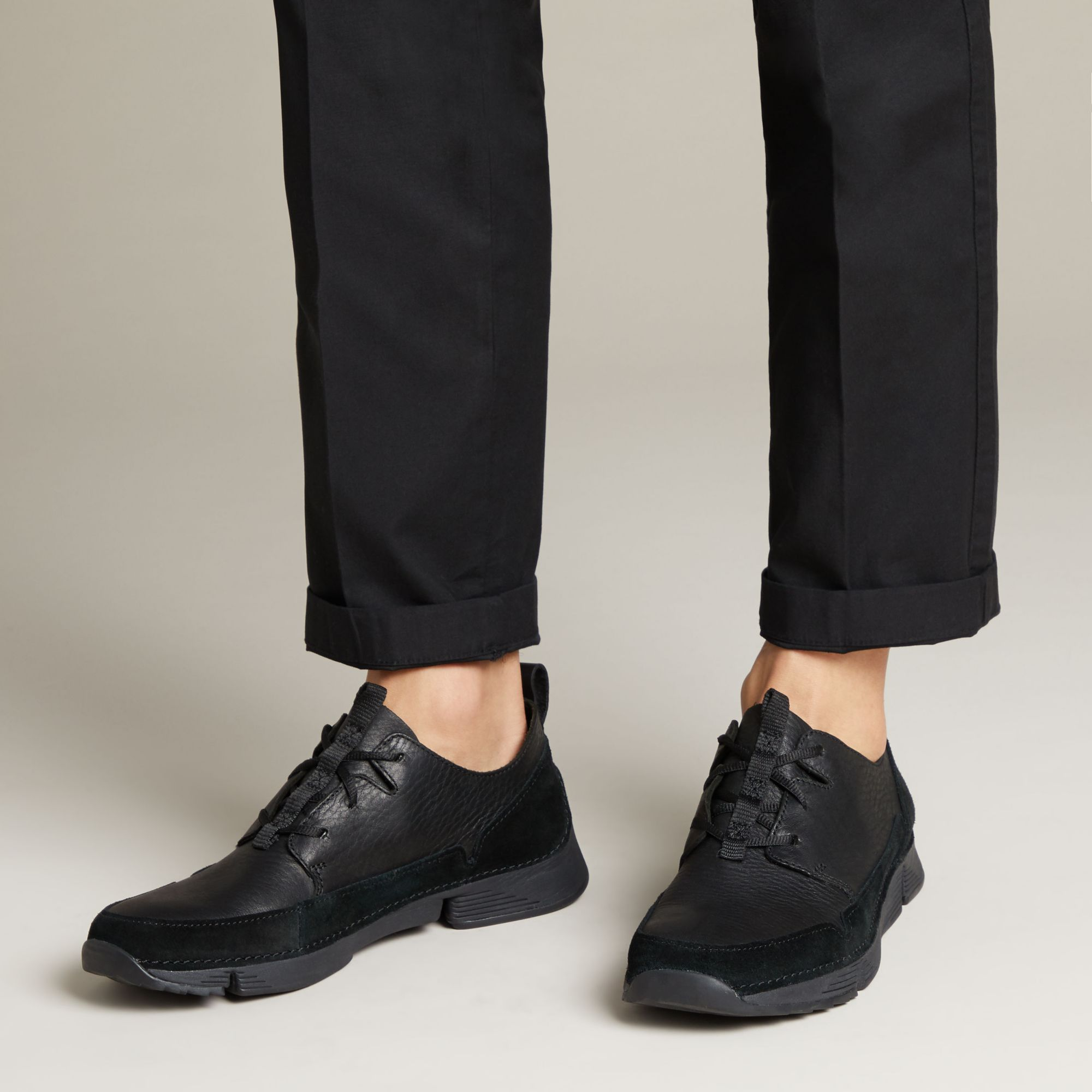 Мъжки спортни обувки Clarks Tri Solar обути