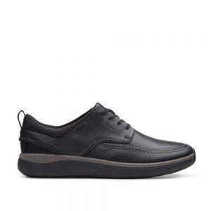 Мъжки ежедневни обувки Clarks Garratt Street - естествена кожа - снимка 2