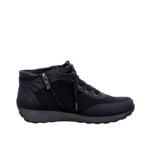 Дамски ежедневни високи спортни обувки от ест. кожа ara 12-44585-01 - снимка 2