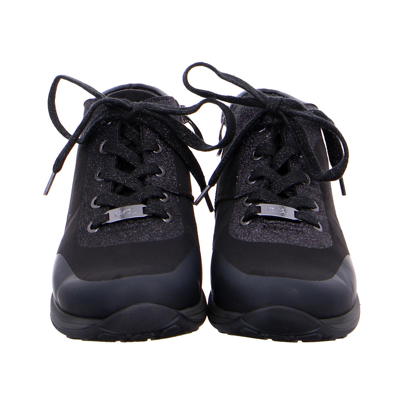 Дамски ежедневни високи спортни обувки от ест. кожа ara 12-44585-01 - снимка 6