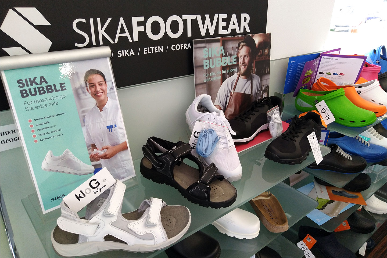 обувки в магазин КЛОГ град София - снимка 2