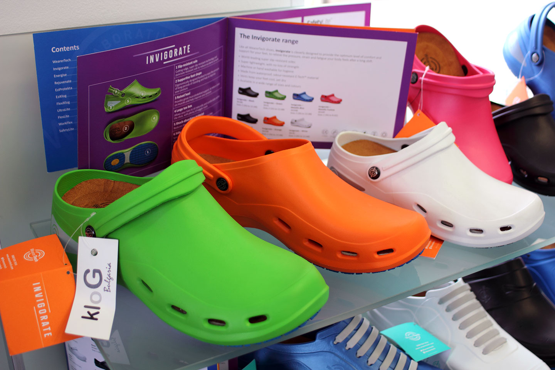 обувки в магазин КЛОГ град София - снимка 4