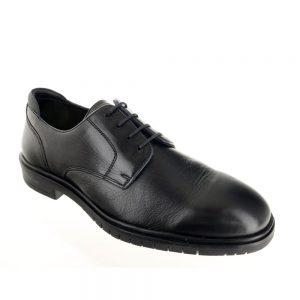 Мъжки черни елегантни обувки ara 11-19401-01 от ест. кожа - снимка 1