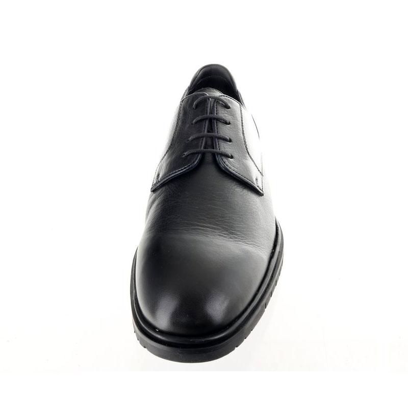 Мъжки черни елегантни обувки ara 11-19401-01 от ест. кожа - снимка 5