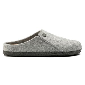 Дамски чехли BIRKENSTOCK Zermatt Soft WZ Light Gray - снимка 2